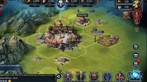 Screenshots von Clash of wonders für Android-Tablet, Smartphone.