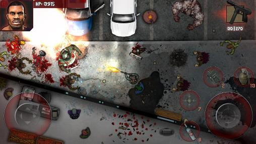 Clash of zombie: Dead fight screenshot 2