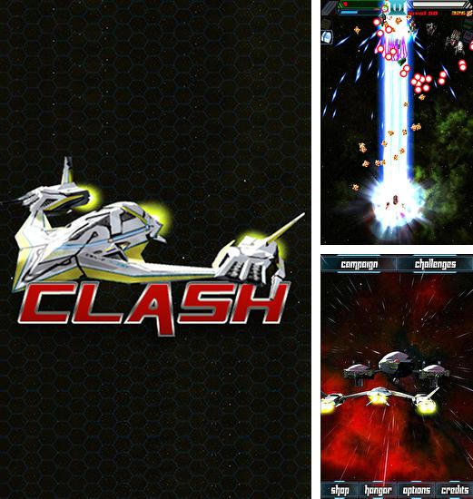 In addition to the game Tiamat X for Android phones and tablets, you can also download Clash: Space shooter for free.