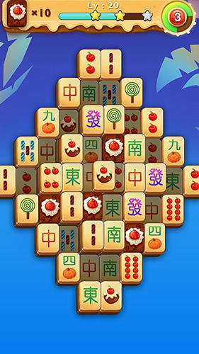 Screenshots von Classic mahjong fruit für Android-Tablet, Smartphone.