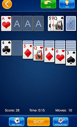 Classic solitaire 2019 screenshot 1