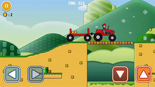 Android タブレット、携帯電話用Classic super bros driver: Best truckerのスクリーンショット。