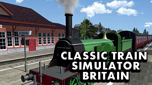 Classic train simulator: Britain poster
