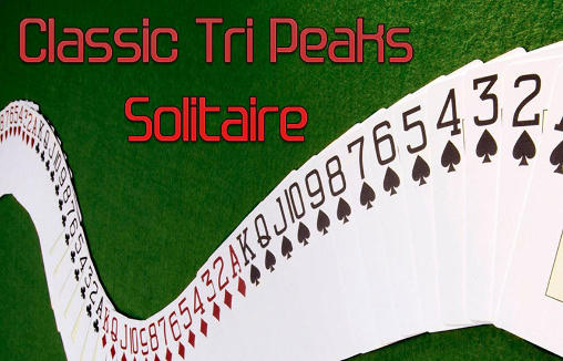 Classic tri peaks solitaire poster