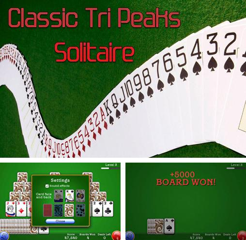 In addition to the game Brick Spider Solitaire for Android phones and tablets, you can also download Classic tri peaks solitaire for free.