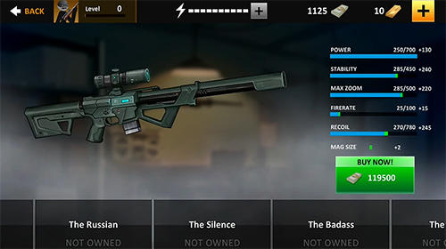 Screenshots von Clear vision 4: Free sniper game für Android-Tablet, Smartphone.