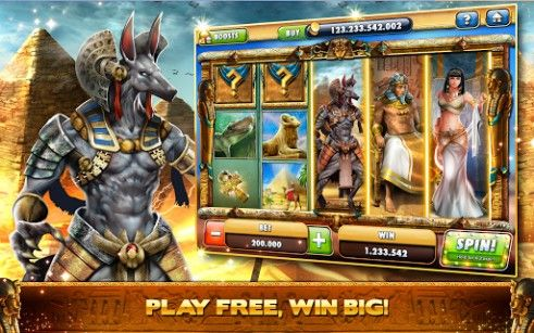 Screenshots von Cleopatra casino: Slots für Android-Tablet, Smartphone.