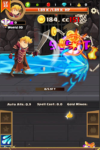Clicker knight: Incremental idle RPG screenshot 3