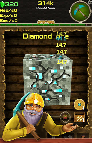 Clicker mine mania 2: Idle tycoon simulator screenshot 1