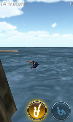 Screenshots von Cliff Diving 3D für Android-Tablet, Smartphone.