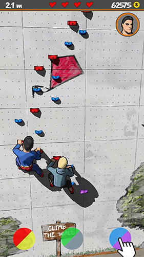 Screenshots von Climb the wall für Android-Tablet, Smartphone.