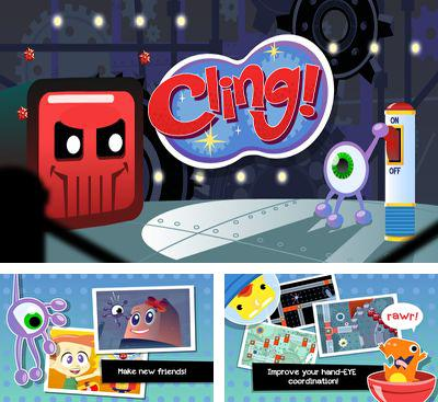 In addition to the game Crazy Bill Zombie Stars Hotel for Android phones and tablets, you can also download Cling! for free.