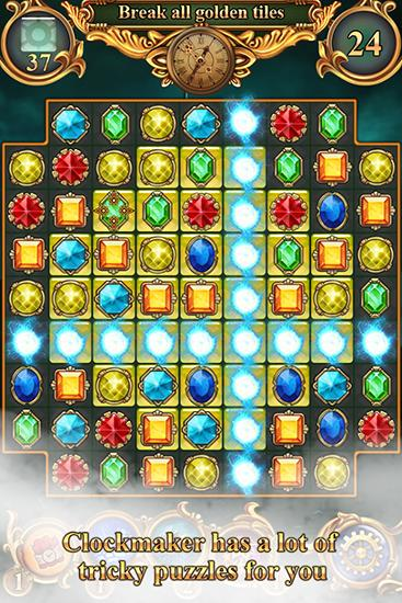 Clockmaker: Amazing match 3 screenshot 2