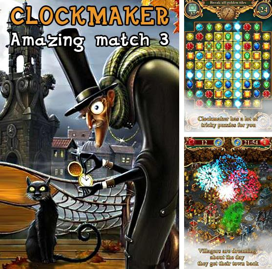 Clockmaker: Amazing match 3