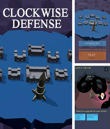 Clockwise defense: Casual zombie TD