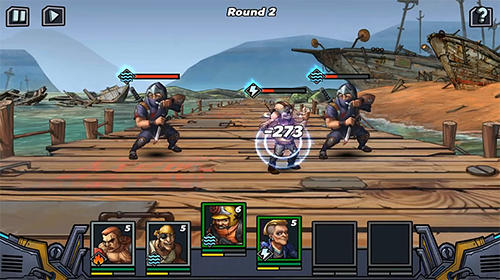 Screenshots of the Clone evolution: War of the mutants for Android tablet, phone.
