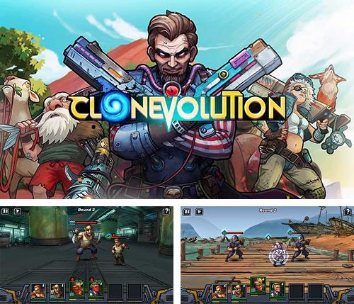 In addition to the game 9 lives: A tap cats RPG for Android phones and tablets, you can also download Clone evolution: War of the mutants for free.