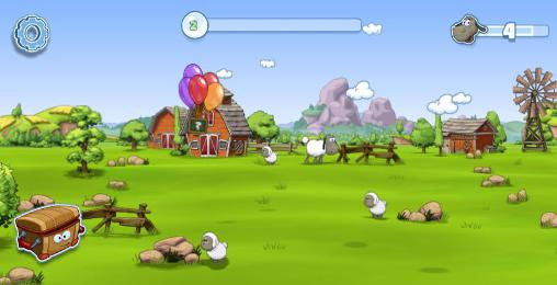 Screenshots von Clouds and sheep 2 für Android-Tablet, Smartphone.