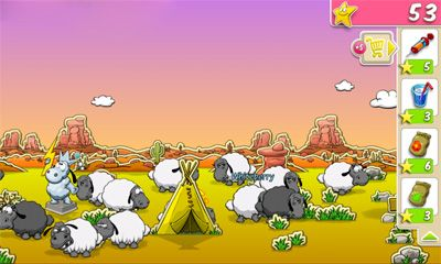 Screenshots do Clouds & Sheep - Perigoso para tablet e celular Android.
