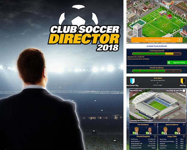 Club soccer director 2018: Football club manager for Android