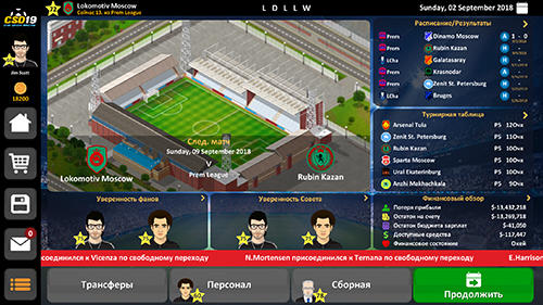Descargar Club Soccer Director 2019 Para Android Gratis El Juego