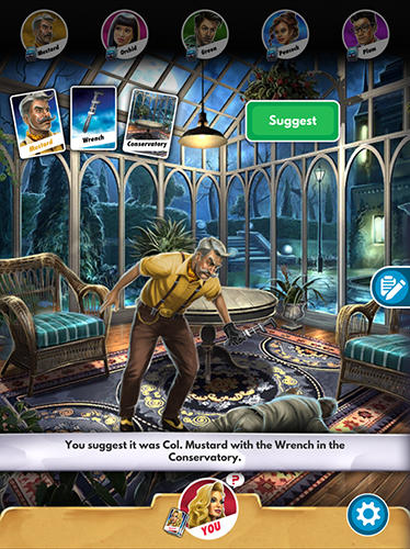 Screenshots von Cluedo für Android-Tablet, Smartphone.