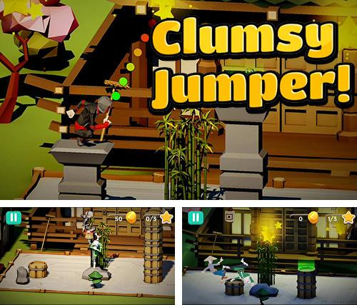 Clumsy jumper!