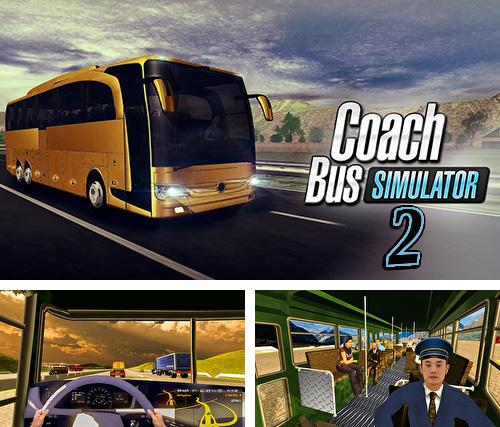 Coach bus simulator driving 2