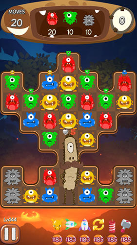 Coco pang: Puzzle master game für Android spielen. Spiel Coco Pang: Puzzle Meister kostenloser Download.