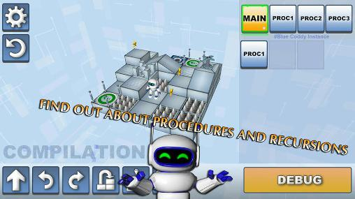 Coddy: World on algorithm screenshot 2