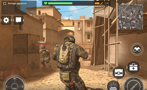 Screenshots do Code of war: Shooter online - Perigoso para tablet e celular Android.