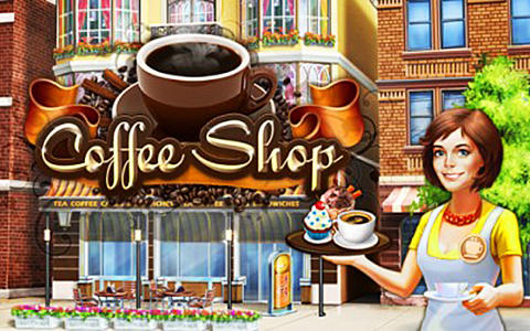 Coffee shop: Cafe business sim poster