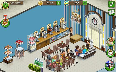 Jogue Coffee shop: Cafe business sim para Android. Jogo Coffee shop: Cafe business sim para download gratuito.