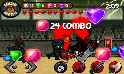 Screenshots von Collosseum Heroes für Android-Tablet, Smartphone.