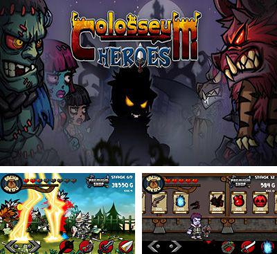 In addition to the game Zombie Ace for Android phones and tablets, you can also download Collosseum Heroes for free.