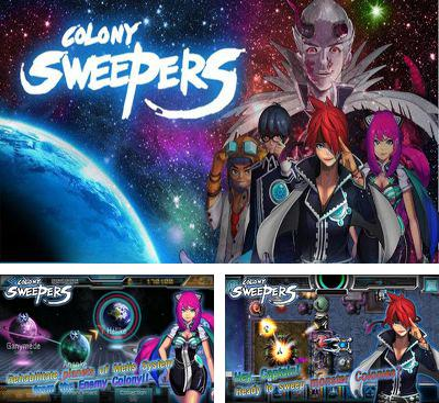 In addition to the game Droomis for Android phones and tablets, you can also download Colony Sweepers for free.