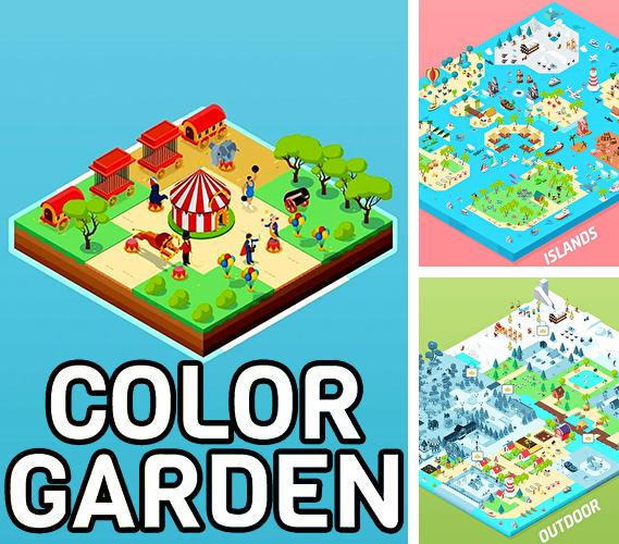 Color garden: Build by number