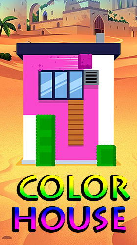 Color house poster