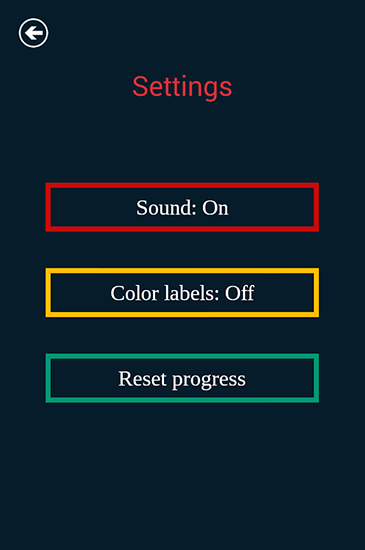 Color lines screenshot 1