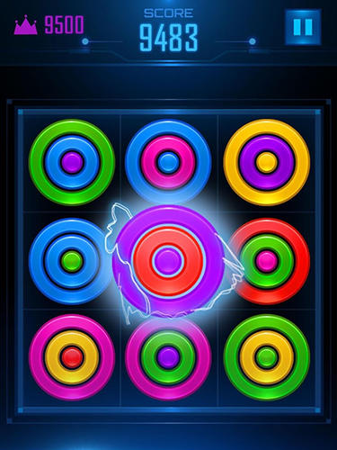 Kostenloses Android-Game Farbring Puzzle. Vollversion der Android-apk-App Hirschjäger: Die Color rings puzzle für Tablets und Telefone.