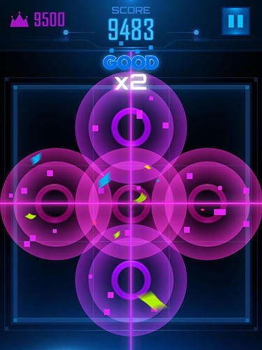 Screenshots von Color rings puzzle für Android-Tablet, Smartphone.