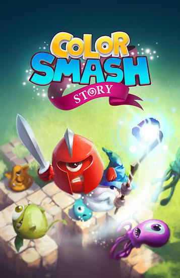 Color smash: Story poster
