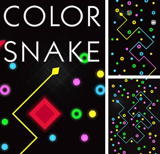 Color snake: Avoid blocks!