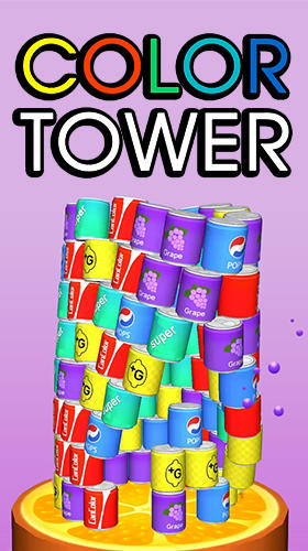 Color tower poster