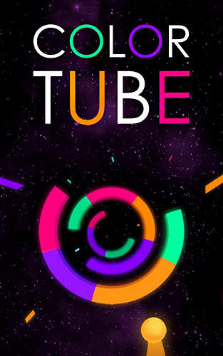 Color tube poster