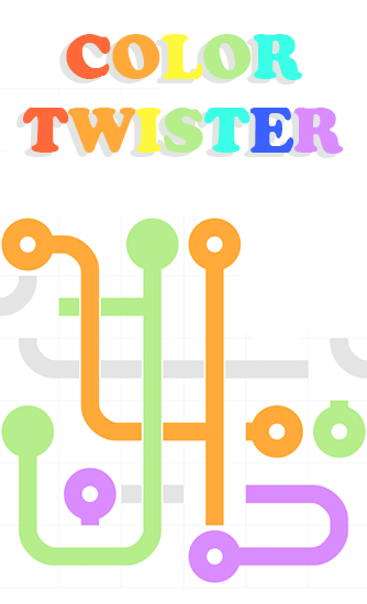 Color twister poster