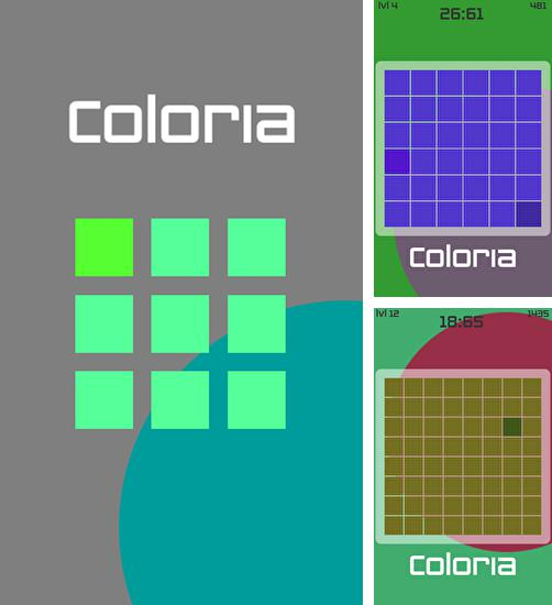 In addition to the game Tank Hero Laser Wars for Android phones and tablets, you can also download Coloria for free.