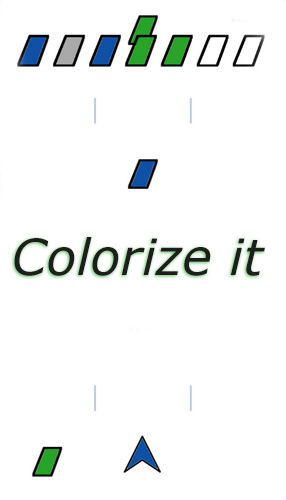 Colorize it poster
