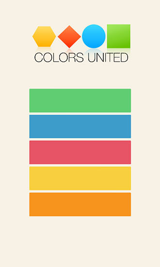 Colors united poster