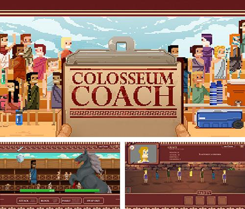 In addition to the game Strategy and tactics: Dark ages for Android phones and tablets, you can also download Colosseum coach for free.